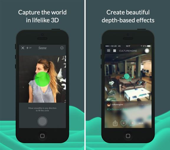 Seene: приложение для создания трехмерных фотографий на Android