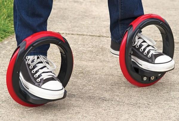 The Sidewinding Circular Skates: гибрид скейтборда и роликовых коньков