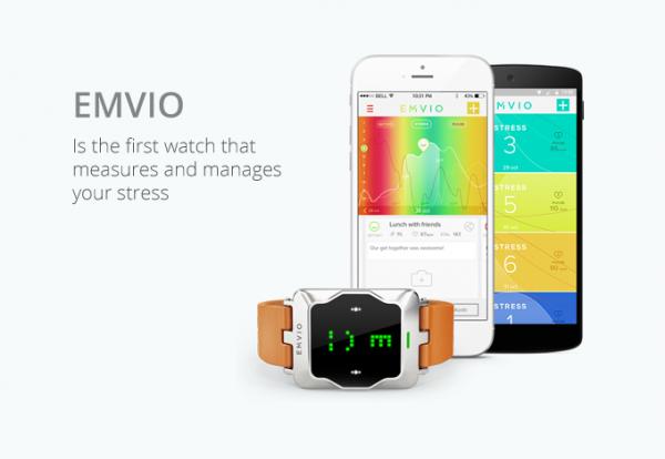 Emvio — «умные» часы, определяющие стресс