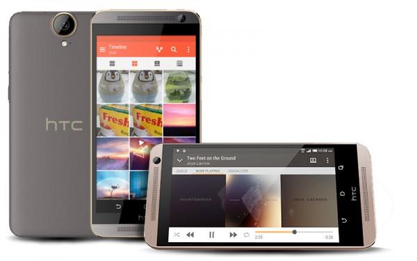 Полные спецификации HTC One E9+ появились на официальном сайте
