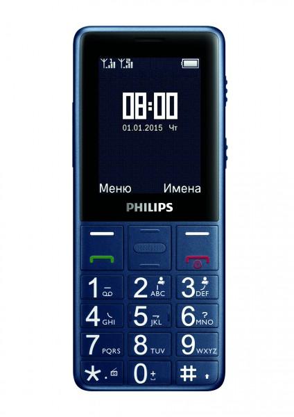 Philips Xenium E311: долгоиграющий телефон с фонариком