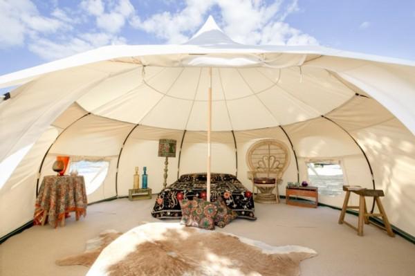 Lotus Belle Outback Deluxe: роскошная палатка за 2300 долларов