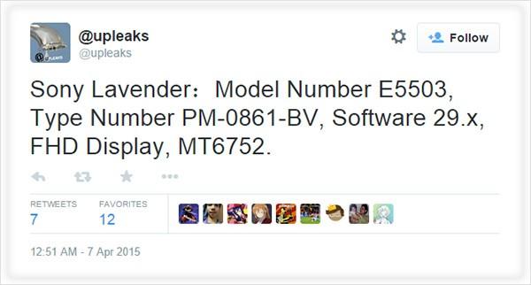 Lavender — новый 8-ядерный смартфон от Sony?