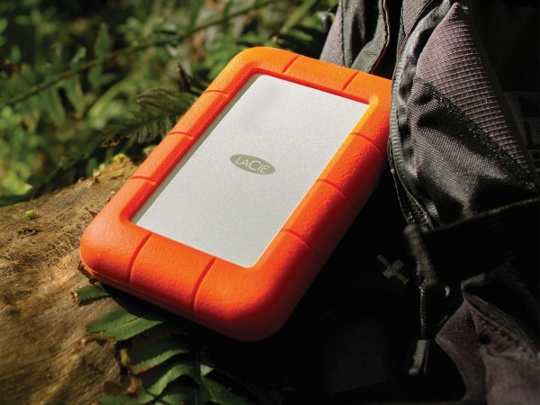 LaCie Rugged Thunderbolt — «неубиваемый» SSD на 1 ТБ