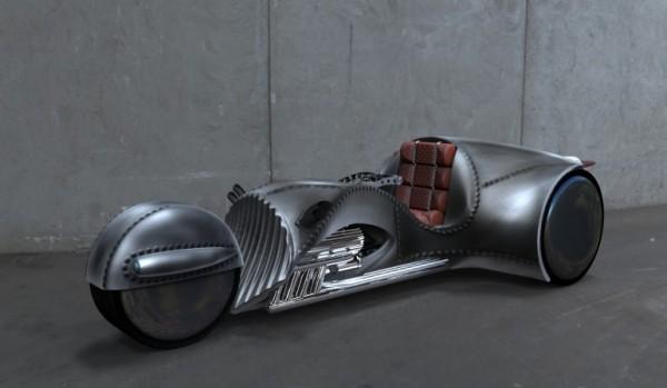 «Капитан Кирк» создал ошеломляющий мотоцикл Rivet