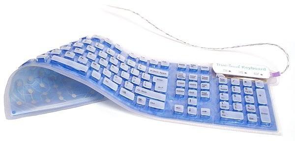 Сворачивающаяся клавиатура