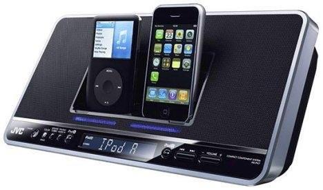 JVC NX-PN7 – док-станция для двух iPod