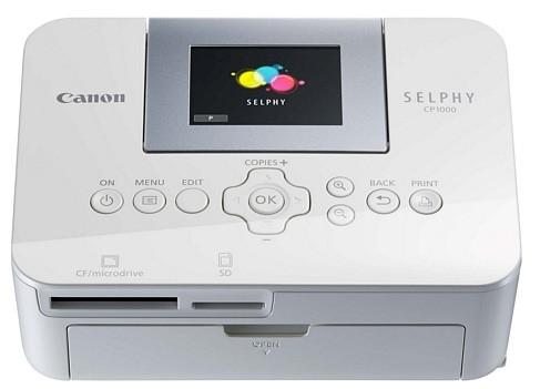 Selphy CP1000 — компактный принтер от Canon