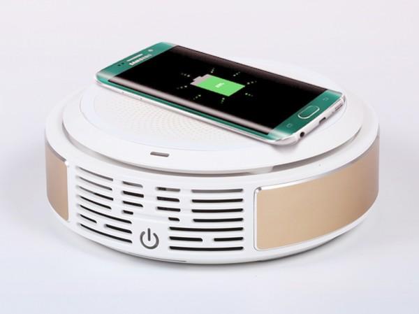 Gbreeze — заряжает смартфоны и очищает воздух