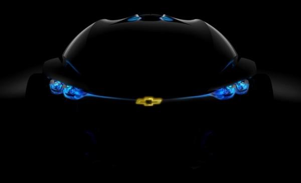 Chevrolet FNR — концептуальный электрокар с фантастическим дизайном