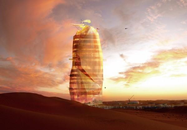 В Сахаре могут построить «вертикальный город»