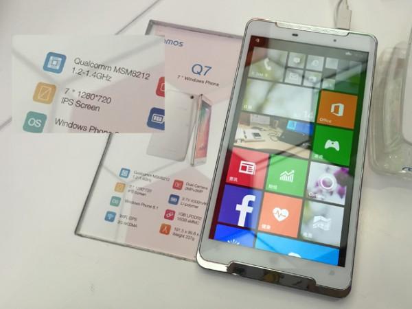 Ramos Q7: 7-дюймовый телефон под управлением Windows Phone 8.1
