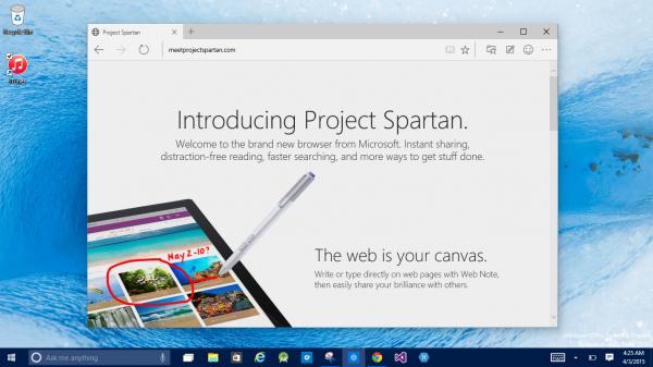 У нового браузера Microsoft появился слоган