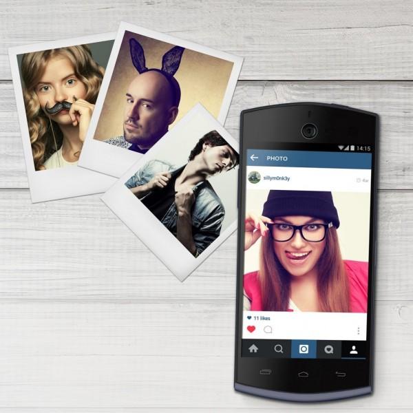 BLU представила смартфон для селфи с камерой на 13 МП