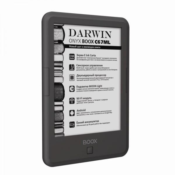 ONYX BOOX C67ML Darwin: 6-дюймовая «читалка» с экраном E Ink Carta