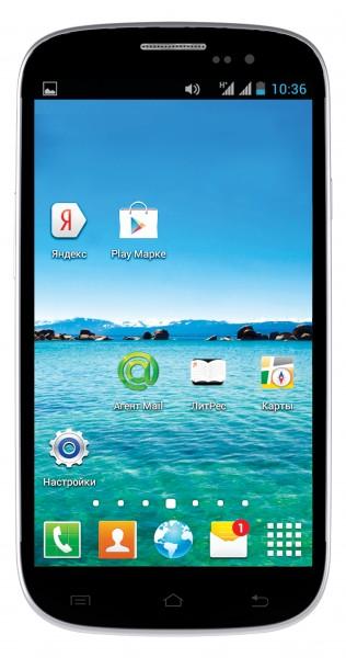Ritmix RMP-471: компактный и недорогой смартфон с 2 аккумуляторами