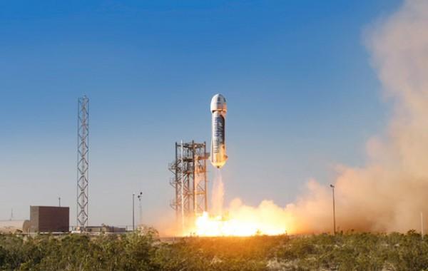 Глава Amazon запустил ракету в космос