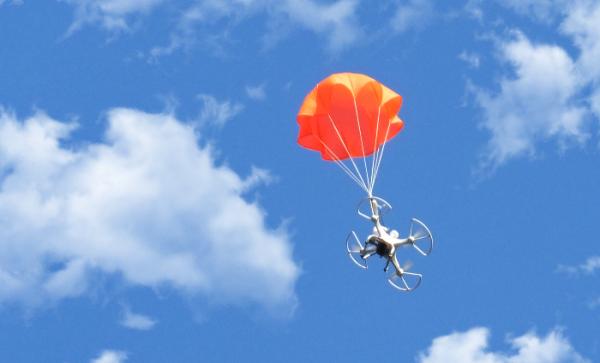 SmartChutes — «умный» парашют для дронов