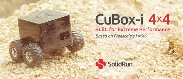 CuBox-i 4x4: компьютер-кубик с 4-ядерным процессором