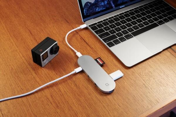 Hub+: многофункциональный концентратор с поддержкой USB-C