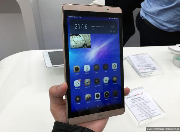 MediaPad M2 — флагманская «таблетка» от Huawei