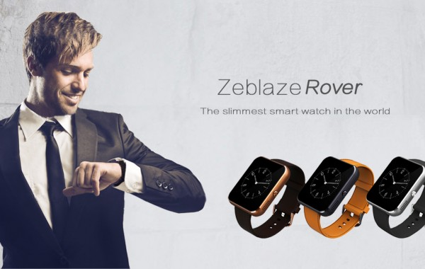 Zeblaze Rover — аналог Apple Watch за 40 долларов