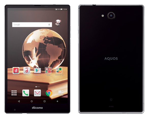 Aquos Pad SH-05G — отличный планшет от Sharp