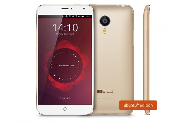 Meizu MX4 Ubuntu Edition уже в продаже за 0
