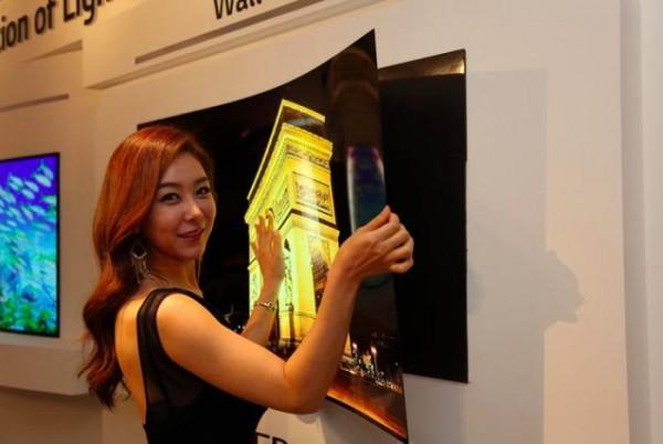 LG создала телевизор тоньше миллиметра