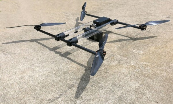Hycopter — водородный беспилотник