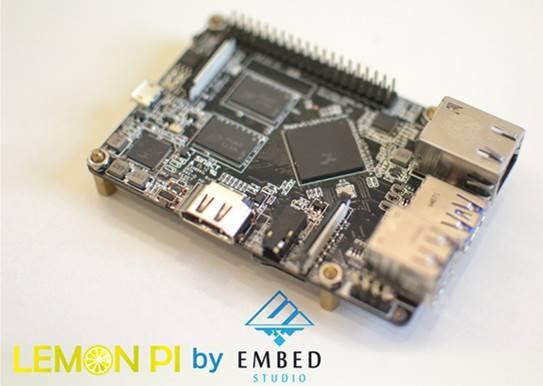 Lemon Pi: клон Raspberry Pi за 35 долларов