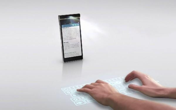 Smart Cast — смартфон со встроенным проектором от Lenovo