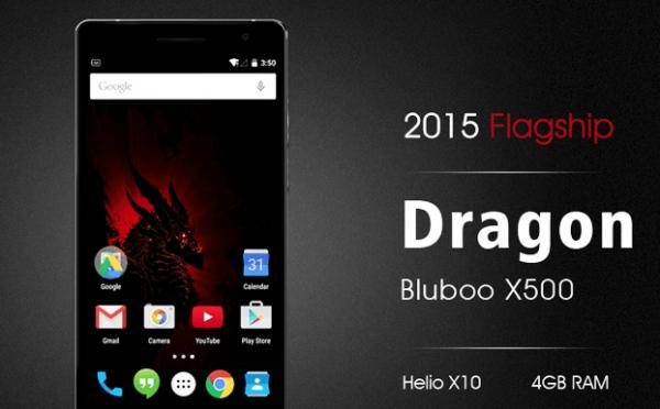 Bluboo X500 Dragon — китайский флагман с процессором Mediatek Helio X1