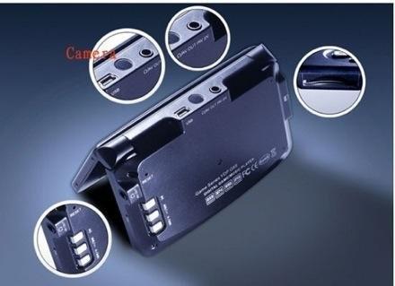 Yinlips YDP-G70 – плеер-раскладушка для любителей игр