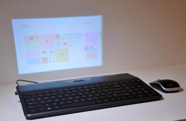 KiBoJet — клавиатура с проектором