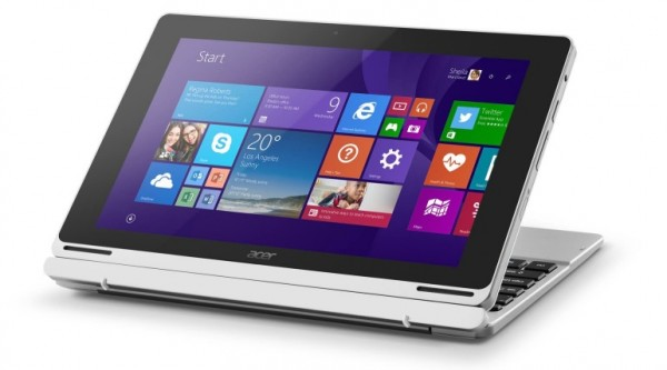 Acer Aspire Switch 10V: планшет-трансформер на базе Intel Cherry Trail