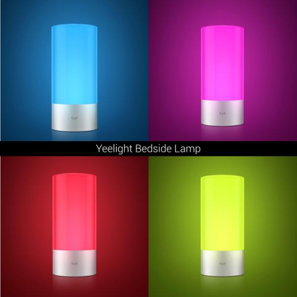 Xiaomi предлагает умный светильник Yeelight Bedside Lamp за