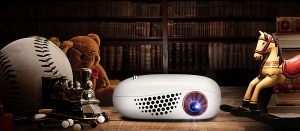 Minibeam Nano — самый маленький проектор от LG