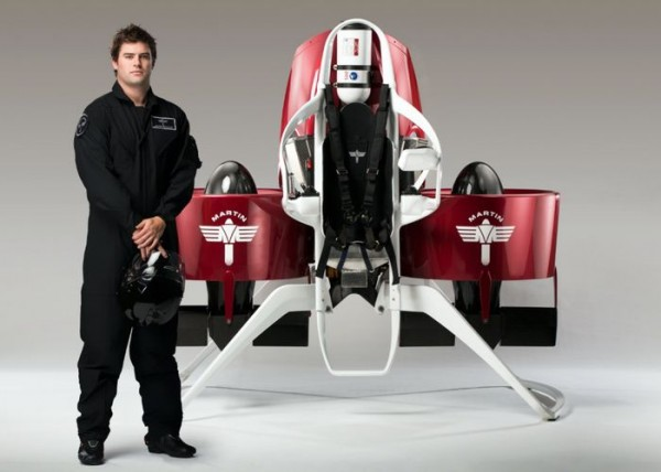 Martin Aircraft Jetpack — реактивный ранец за 150 000 долларов