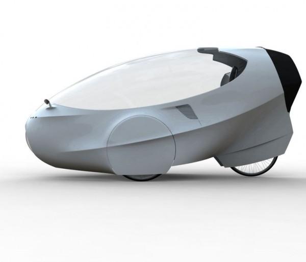 GinzVelo — одноместный электроцикл за 00