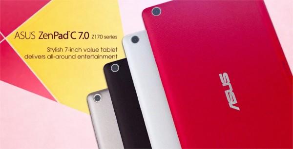 Asus неожиданно представила 7-дюймовый планшет ZenPad C 7.0
