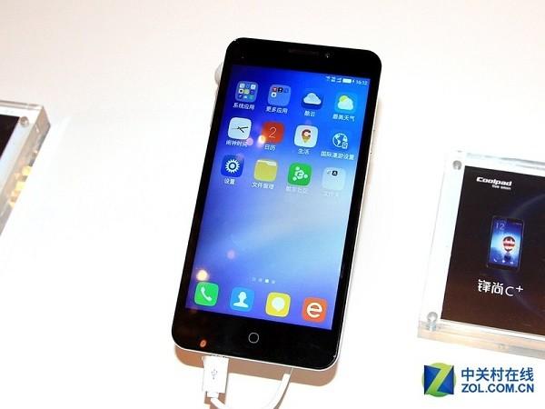 Fengshang С +: 5,5-дюймовый флагман от Coolpad