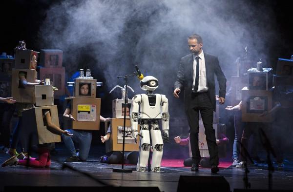 Myon — робот, играющий в опере