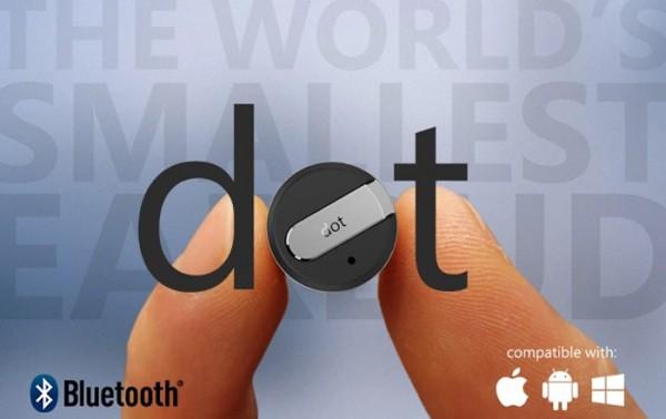 Dot — крошечная беспроводная гарнитура