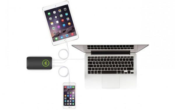 MOS Reach Go — портативный аккумулятор, способный зарядить ноутбук