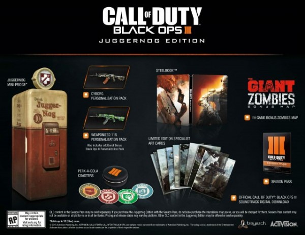 Мини-холодильник для поклонников Call of Duty