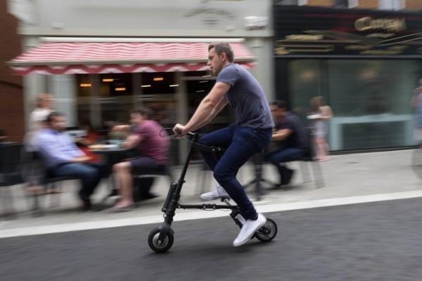 A-Bike Electric: складной электрический велосипед
