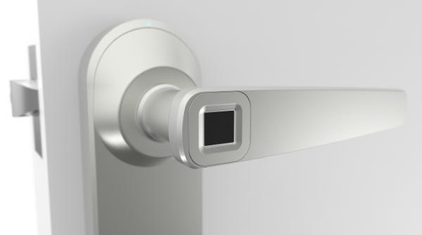 Ola — дверной замок со сканером отпечатков пальцев
