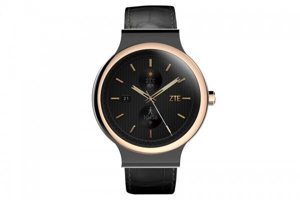 ZTE Axon Watch — водонепроницаемые умные часы с круглым дисплеем