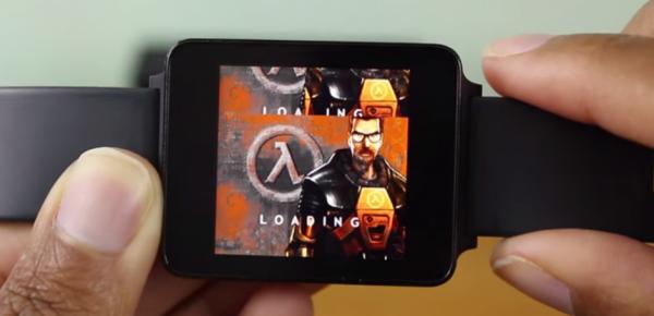 Half-Life запустили на умных часах с Android Wear